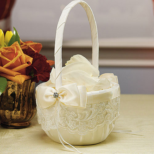 Корзина для подарков на свадьбе 77